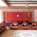 Shigatse Hotel Reception Hall, Stunning colors!