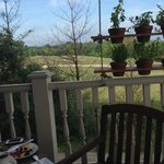 Great view from Andrews deck