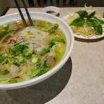 A large Special Pho bowl!