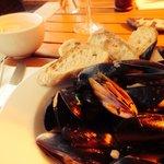 Moules mariniere - delicious.