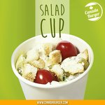 Enjoy the Canada Burger salad by itself, or substitute it in your combo instead of a poutine.