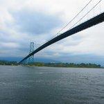 dalla ciclabile il ponte