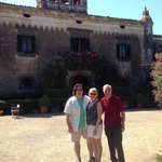 With the Baron at Castello degli Schiavi