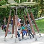 Les inventions dans le parc