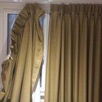 Broken curtains