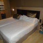 Las camas, muy comodas