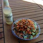 Thai Crunch Salad with Ginger Beer...I love Big Mango!