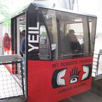 Tram closeup