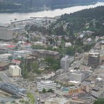 View of Juneau from Mount Roberts