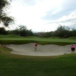Big bunkers with good sand.