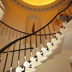 Staircase with 'Ducks'