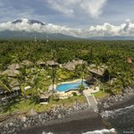 Relax Bali Resort - bird view