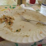 A clean plate means it was oh so good