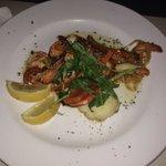 Shrimps!!! Muito pouca comida!!!
