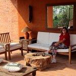 Outside terrace - lounge area