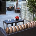 Enjoy and relax our Southern California weather on the Patio.