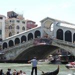 The famous Rialto Bridge