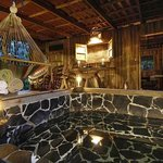 Back porch cabin Toucan with private hot tub