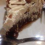 Chocolate cream pie. Could've been sweeter.