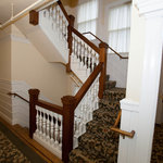 Stairs at the Hotel Drisco