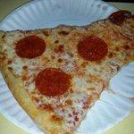 Greasy pizza!