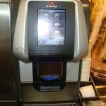 Club room, Coffee machine