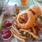 Cries and Fries (Onion rings and Fries)