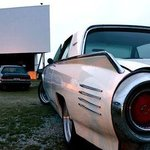 Classic car at the FoD Drive-In