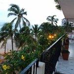 Our wrap around balcony facing the ocean