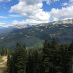 View from Blackcomb in summer.