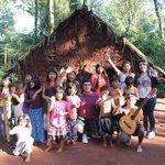 Despedida con la comunidad Guarani