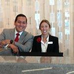 Great reception staff