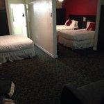 Very spacious family suite