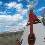 One of the teepees