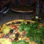 Pizza Totò with rocket