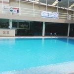 수영장입니다. 160cm에요