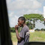 Гаитянец на плантации сахарного тростника