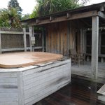 Spa Pool and Sauna with Hot Shower