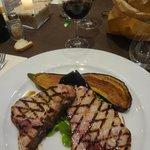 Excellent steak d'espadon grillé !