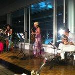コンサートは火曜日開催でした。