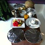 colazione di benvenuto in camera