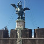 Archangel Michael (on top of the Castel)