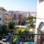 uitzicht van af balkon.