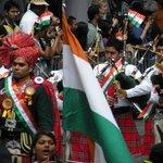 Parade des Indiens des Etats-Unis