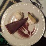 Chocolate and Chili Tart