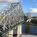 Story Bridge from 9th floor Adina Apartments