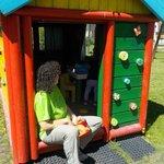 casetta per giochi giardino