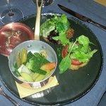 Simpatiche milanesi con le verdure al vapore