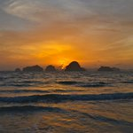 Atemberaubender Sonnenuntergang inklusive