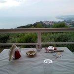 Il tavolo...e il panorama